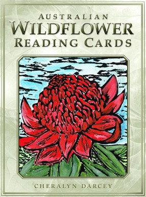 Image for Australian Wildflower Reading Cards: 44 cards and guidebook
