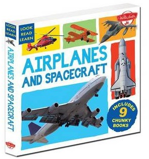Image for Airplanes and Spacecraft: 9 Chunky Books