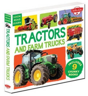 Image for Tractors and Farm Trucks: 9 Chunky Books