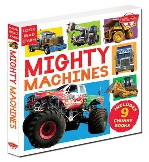 Image for Mighty Machines: 9 Chunky Books