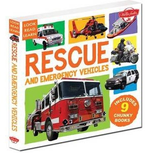 Image for Rescue and Emergency Vehicles: 9 Chunky Books