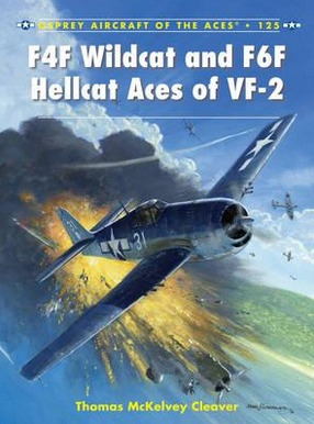 Image for F4F Wildcat and F6F Hellcat Aces of VF-2 #125 Osprey Aircraft of the Aces