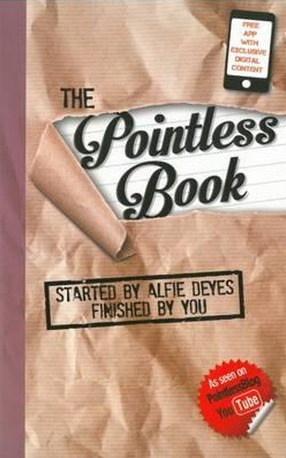 Image for The Pointless Book: Started by Alfie Deyes Finished By You