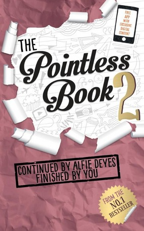 Image for The Pointless Book 2: Continued by Alfie Deyes Finished By You