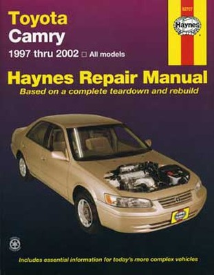 Image for Toyota Camry 1997-02 All Models (92707) Haynes Automotive Repair Manual