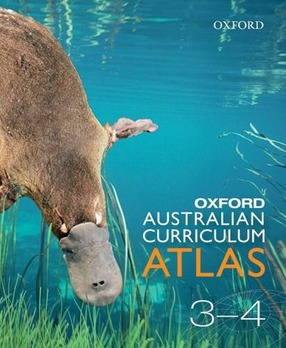 Image for Oxford Australian Curriculum Atlas Years 3-4 Second Edition *** OUT OF STOCK *** SEE NEW EDITION 9780190310783