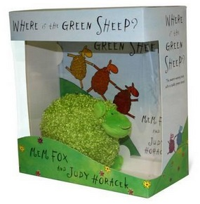 Image for Where is the Green Sheep? Hardback book and plush toy boxed set