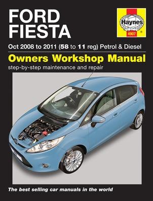 ford fiesta 2008 2011 4907 haynes automotive repair manual rh thereallygoodbookshop com au 2010 Ford Fiesta haynes manual ford fiesta 2013 part number