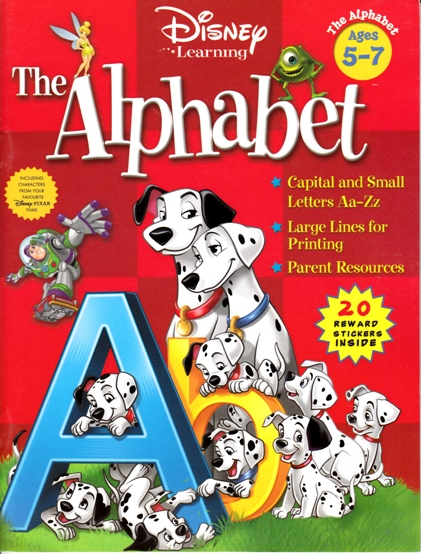Image for The Alphabet Activity Book: Disney Learning