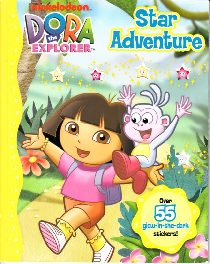 Image for Dora the Explorer Star Adventure: Over 55 glow-in-the-dark Stickers!