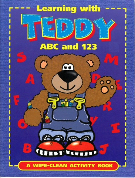 Image for Learning with Teddy ABC and 123: A Wipe-Clean Activity Book