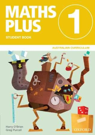 Image for Maths Plus Student Book 1 Value Pack: Australian Curriculum Edition (includes Student Book 1 + Assessment Book 1)