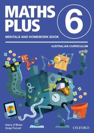 Image for Maths Plus Mentals and Homework Book 6: Australian Curriculum Edition