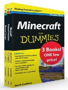 Image for Minecraft for Dummies Value Pack: 3 Books 1 Low Price!