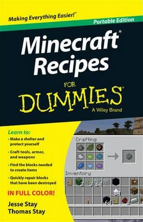 Image for Minecraft Recipes for Dummies: Portable Edition