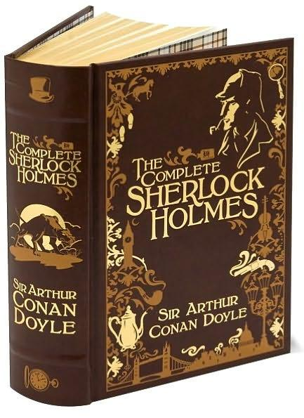 Image for The Complete Sherlock Holmes: Leatherbound Classic Collection *** OUT OF STOCK ***