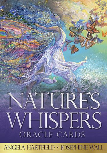 Image for Nature's Whispers Oracle Cards: set includes 50 cards and guidebook
