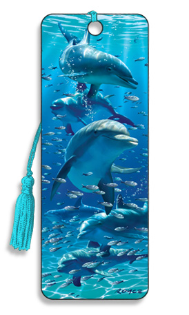 Image for Dolphins 3D Bookmark