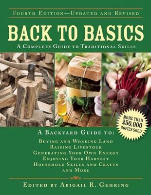 Image for Back to Basics 4E A Complete Guide to Traditional Skills