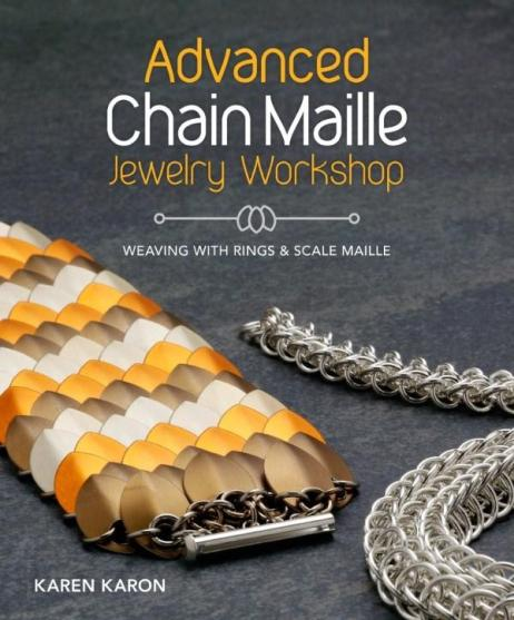 Image for Advanced Chain Maille Jewelry Workshop: Weaving with Rings and Scale Maille
