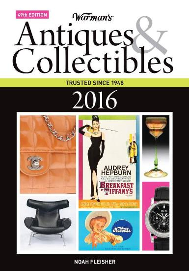 Image for Warman's Antiques & Collectibles 49E 2016 Price Guide
