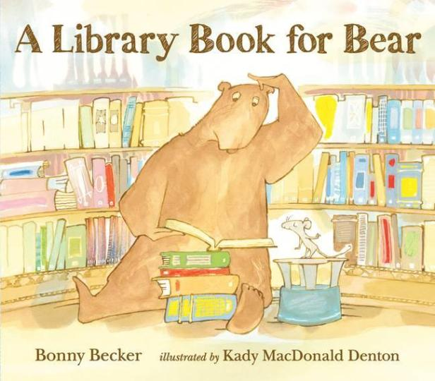 Image for A Library Book for Bear