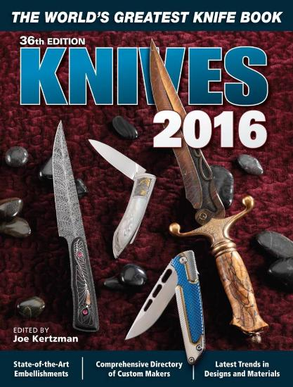 Image for Knives 2016 36th Edition : The World's Greatest Knife Book