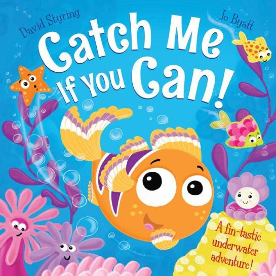 Image for Catch Me If You Can! A fin-tastic underwater adventure!