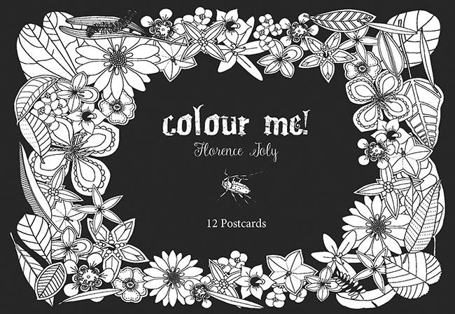 Image For Colour Me Postcards