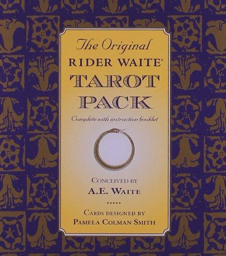 Image for The Original Rider Waite Tarot Pack: 78-card Deck + Key to the Tarot + Divinatory Chart