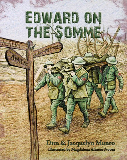Image for Edward on the Somme: Life in the trenches in World War I Charles Edward Munro