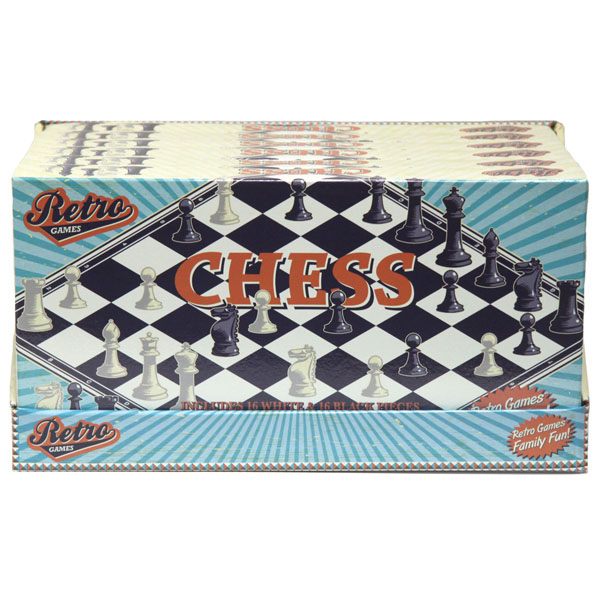 Image for Retro Games Chess Set