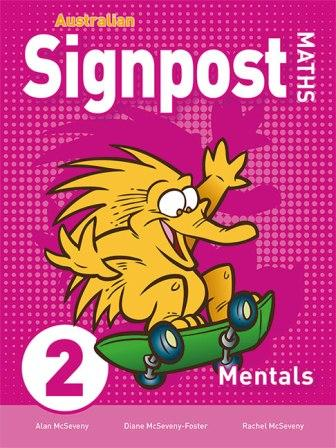 Image for Australian Signpost Maths 2 Mentals Homework Book (3e) AC Australian Curriculum