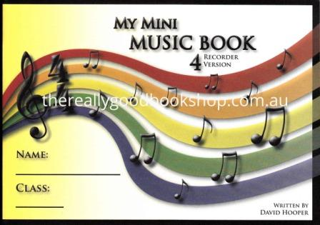 Image for My Mini Music Book 4 - Recorder Version