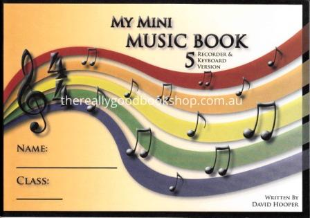 Image for My Mini Music Book 5 - Recorder / Keyboard Version
