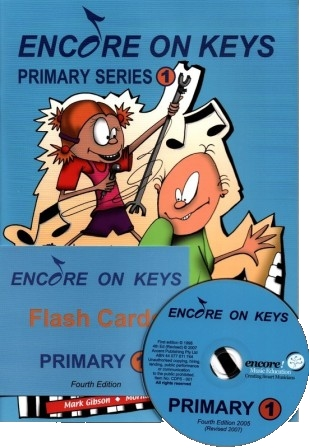 Image for Encore on Keys Primary Series 1 Piano/Keyboard - CD and Flash Cards Included