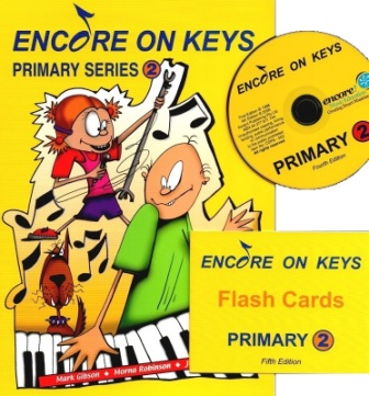 Image for Encore on Keys Primary Series 2 Piano/Keyboard - CD and Flash Cards Included
