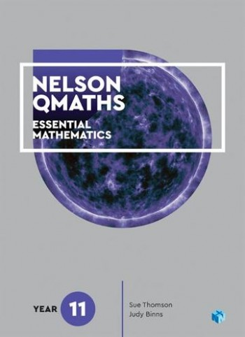 Image for Nelson QMaths 11 Mathematics Essential Student Book