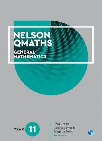 Image for Nelson QMaths 11 Mathematics General Student Book with 4 Access Codes 4th Edition