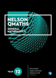 Image for Nelson QMaths 12 Mathematics General Student Book with 4 Access Codes 4th Edition *** RELEASES 29/1/2019 ***