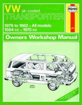 Image for Volkswagen VW air-cooled Transporter 1979-1982 All Models 1584cc 1970cc Owners Workshop Manual 638