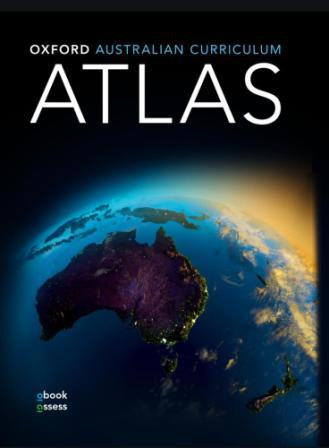 Image for Oxford Australian Curriculum Atlas + obook assess Second Edition *** OUT OF STOCK *** SEE NEW EDITION 9780190308223