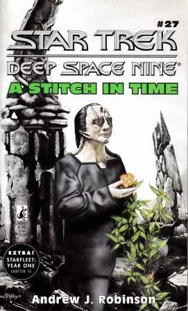 Image for A Stitch in Time #27 Star Trek Deep Space Nine [used book][rare]