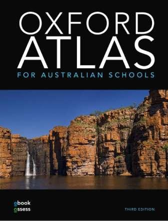 Image for Oxford Atlas for Australian Schools + obook assess Third Edition