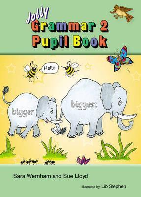 Image for Grammar 2 Pupil Book JL899 in Precursive Letters # Jolly Phonics