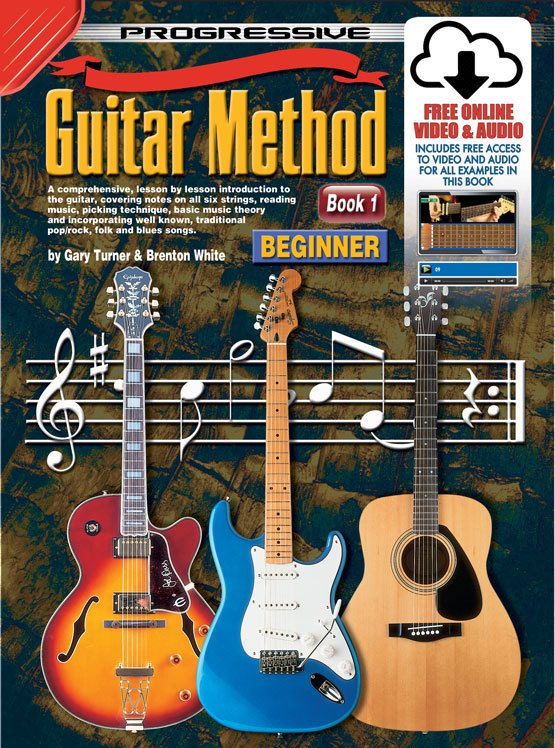 Image for Progressive Guitar Method Book 1 Beginner (includes Free Online Video and Audio) Teach Yourself How to Play Guitar