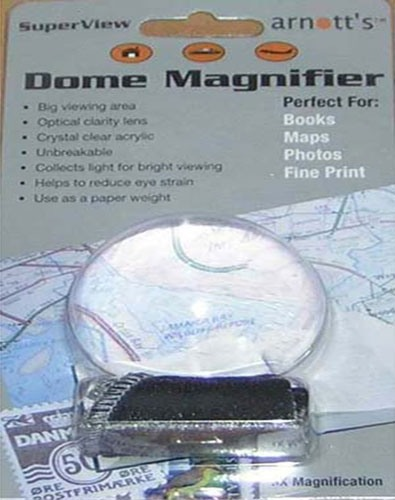 Image for Acrylic Dome Magnifier 45mm diameter 3X Magnification
