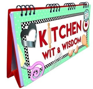 Image for Kitchen Wit and Wisdom Flip Book