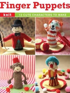 Image for Finger Puppets: 12 Cute Characters to Make
