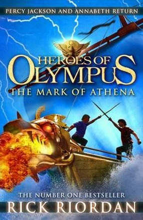 Image for Mark of Athena #3 Heroes of Olympus